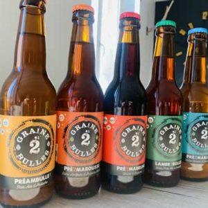 Bières artisanales, Graine de Bulles, Vente à emporter