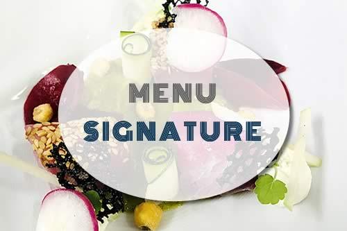 Menu Signature