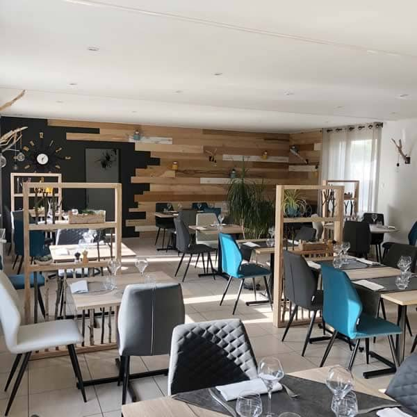Salle, restaurant La Route Bleue - Maitre restaurateur